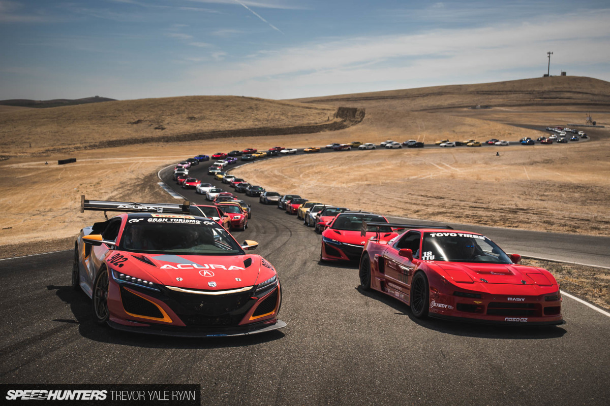 NSXPO Meets Type R Club At Thunderhill