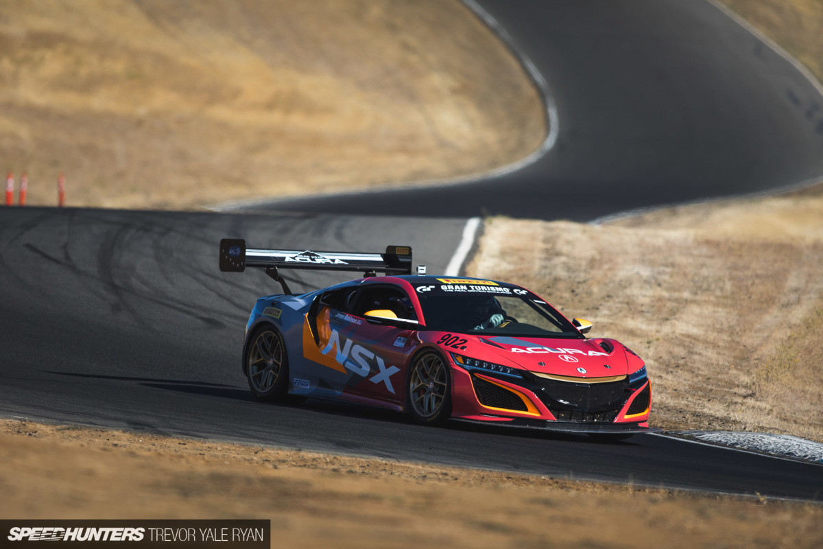 A Lap In The Pikes Peak NSX