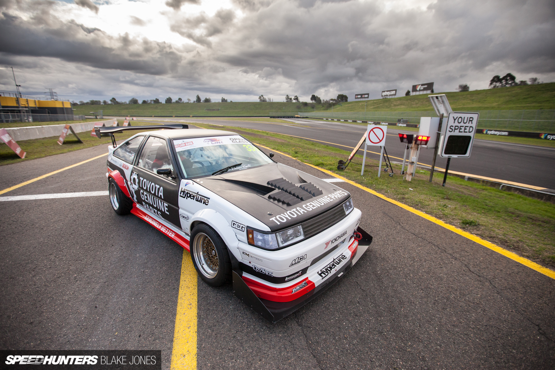 The Ultimate Drift Transition In An AE86