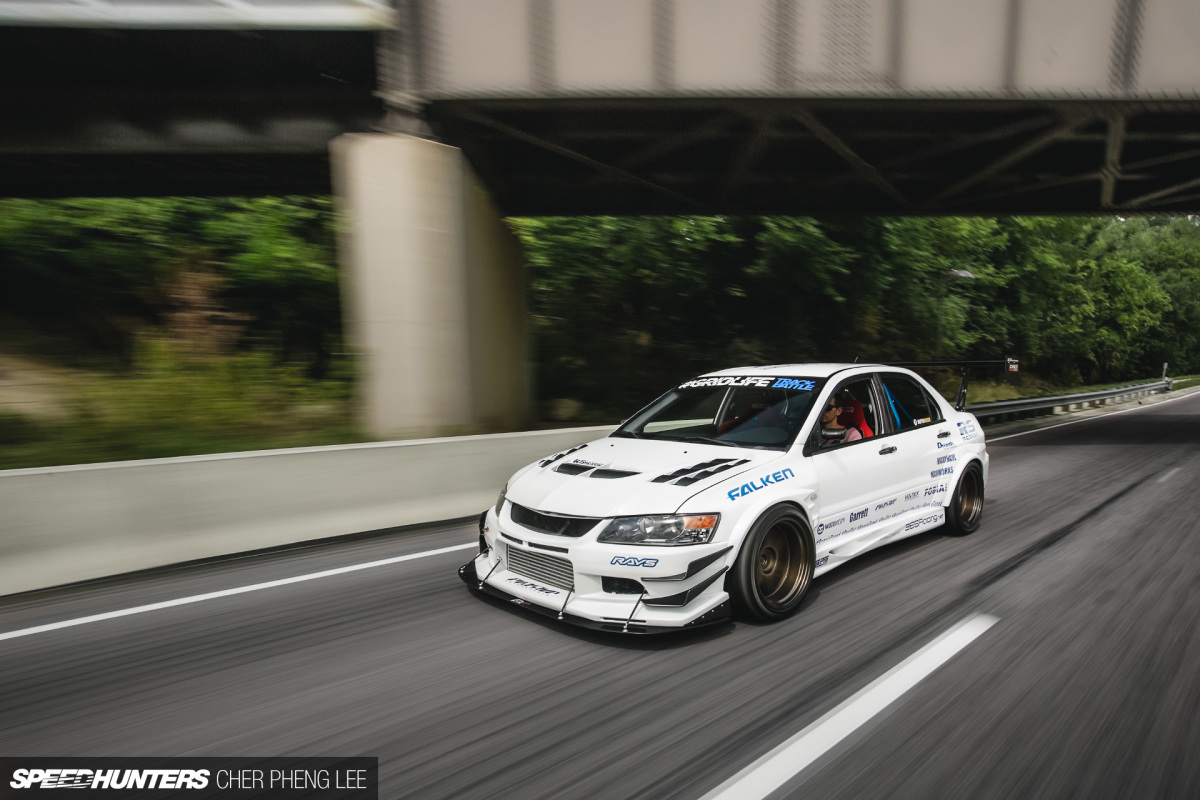 Brothers In Racing: The Evo IX That Can Do It All