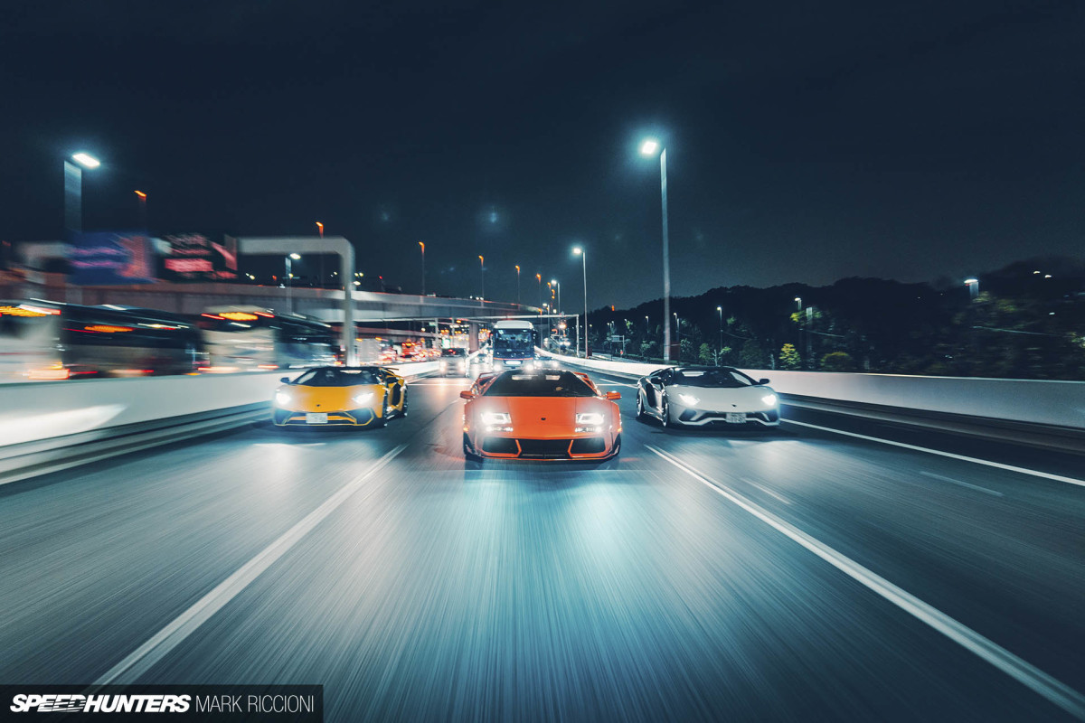 The Night The V12s Took Over Tokyo