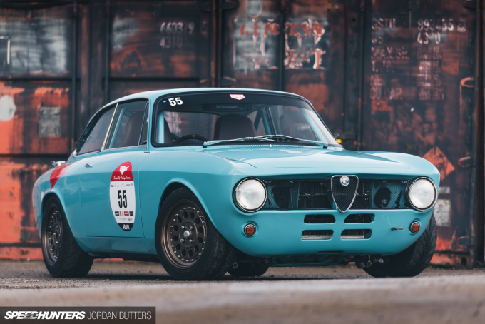 Retropower Alfa Romeo GT Junior 1300 Speedhunters by Jordan Butters-2