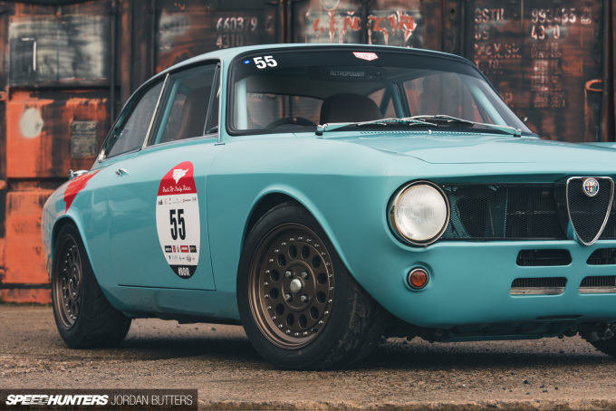 Retropower Alfa Romeo GT Junior 1300 Speedhunters by Jordan Butters-3