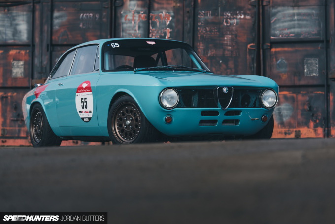 Retropower Alfa Romeo GT Junior 1300 Speedhunters by Jordan Butters-13