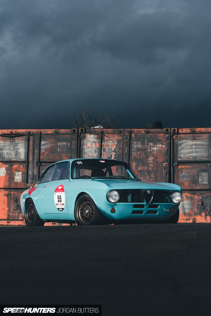 Retropower Alfa Romeo GT Junior 1300 Speedhunters by Jordan Butters-14