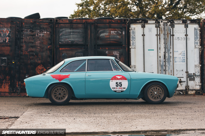 Retropower Alfa Romeo GT Junior 1300 Speedhunters by Jordan Butters-57