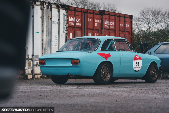Retropower Alfa Romeo GT Junior 1300 Speedhunters by Jordan Butters-59