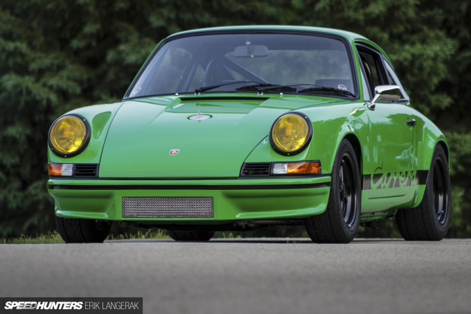 2018 Erik Langerak Porsche 1973 911 RS Kermit-34