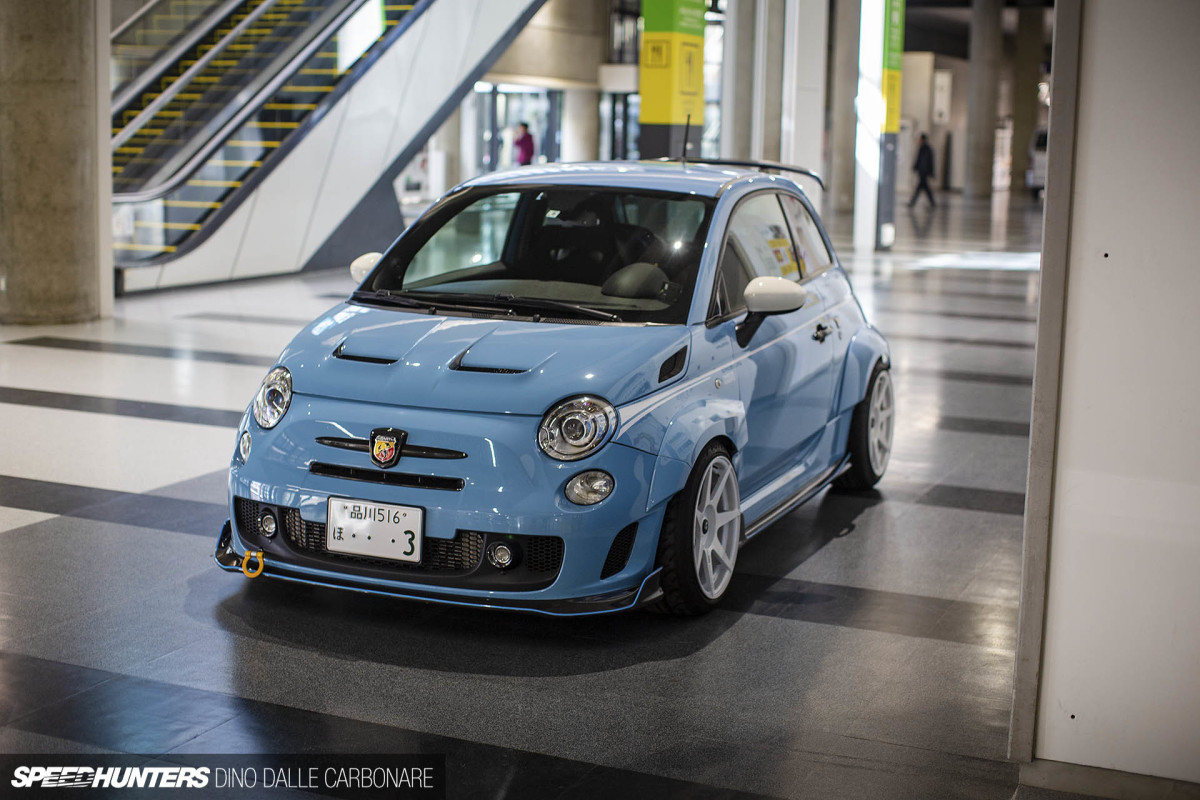 An Abarth 595 With The JDM Treatment