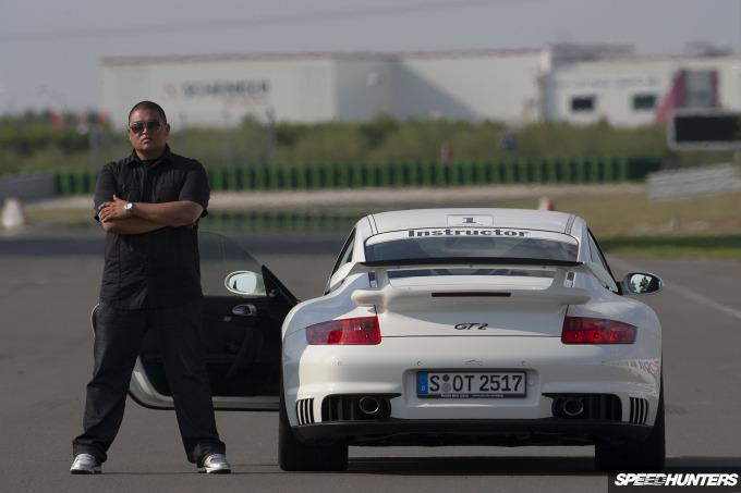 Porsche 911 GT2, 997, Leipzig Test Track