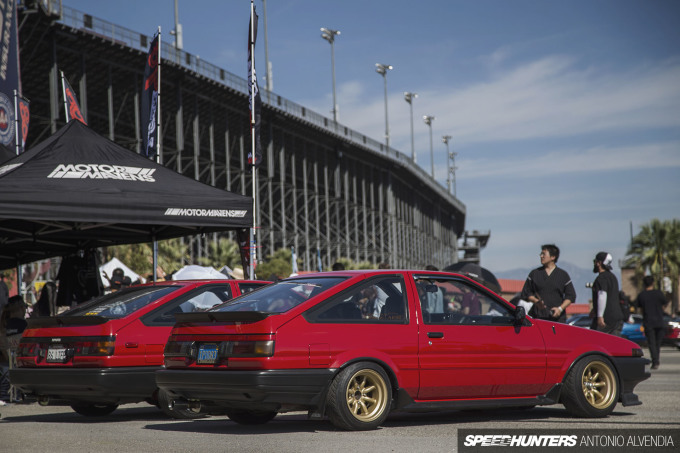 Cipher Garage AE86 twins 86LIFE SSR Wheels