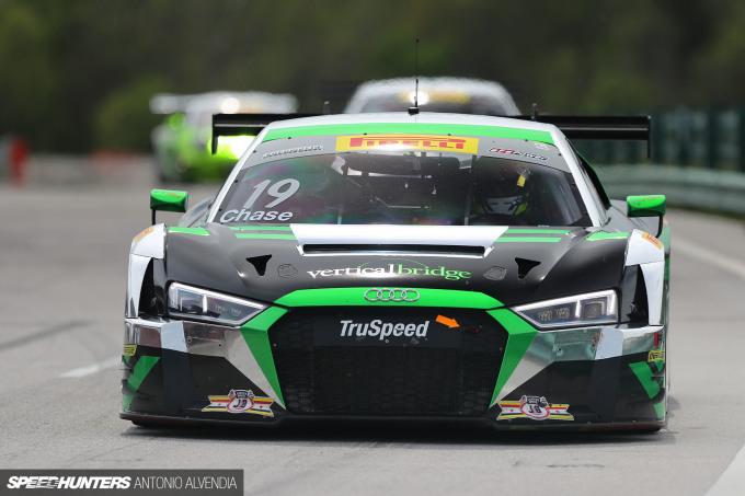 Pirelli World Challenge Watkins Glen Audi R8 GT3 LMS