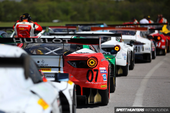Pirelli World Challenge Martin Fuentes Garage Italia Ferrari 488 GT3