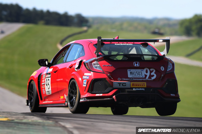 HMA Motorsports, Civic Type R, VIR, Pirelli World Challenge, TC, Virginia International Raceway