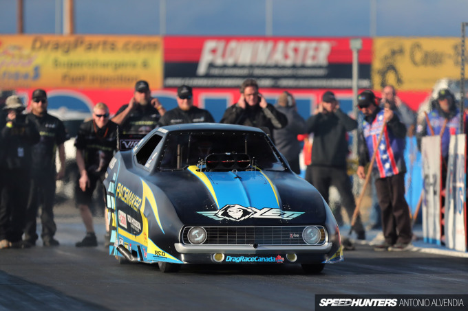 retro funny car nostalgia drag racing