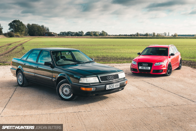 Project Audi RS4 by Jordan Butters Speedhunters-