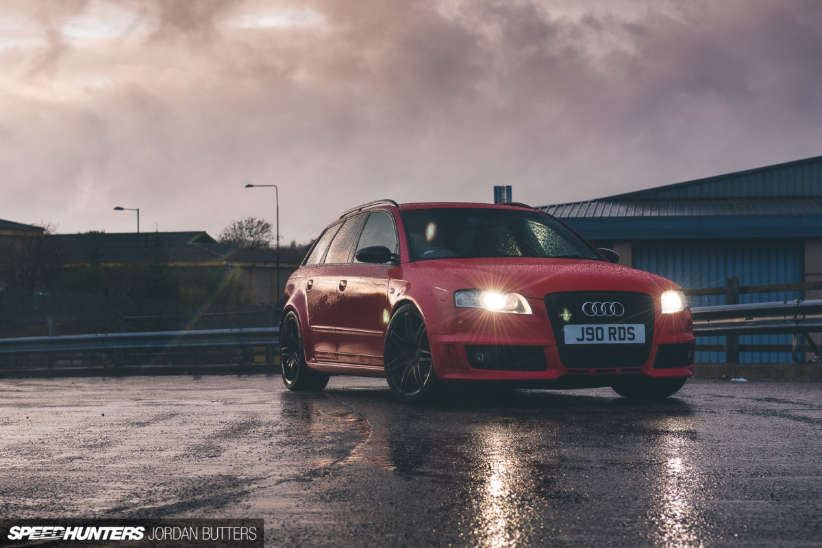 Project RS4: More Traction, Less Roll