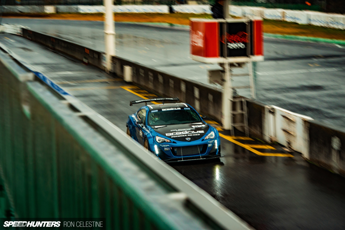 RevSpeed Time Attack: The Unexpected Downpour AtTsukuba