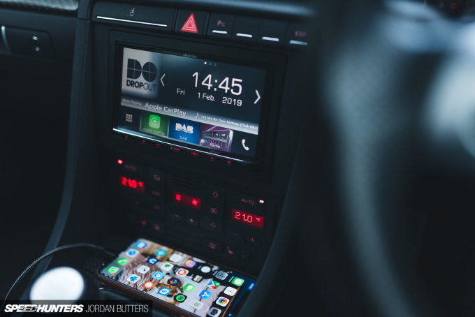 Project RS4 Kenwood CarPlay Speedhunters by Jordan Butters-7959
