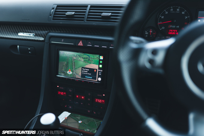 Project RS4 Kenwood CarPlay Speedhunters by Jordan Butters-7957