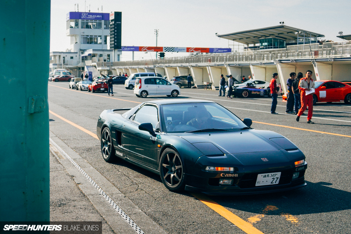 Project NSX Tests Tyres at Tsukuba