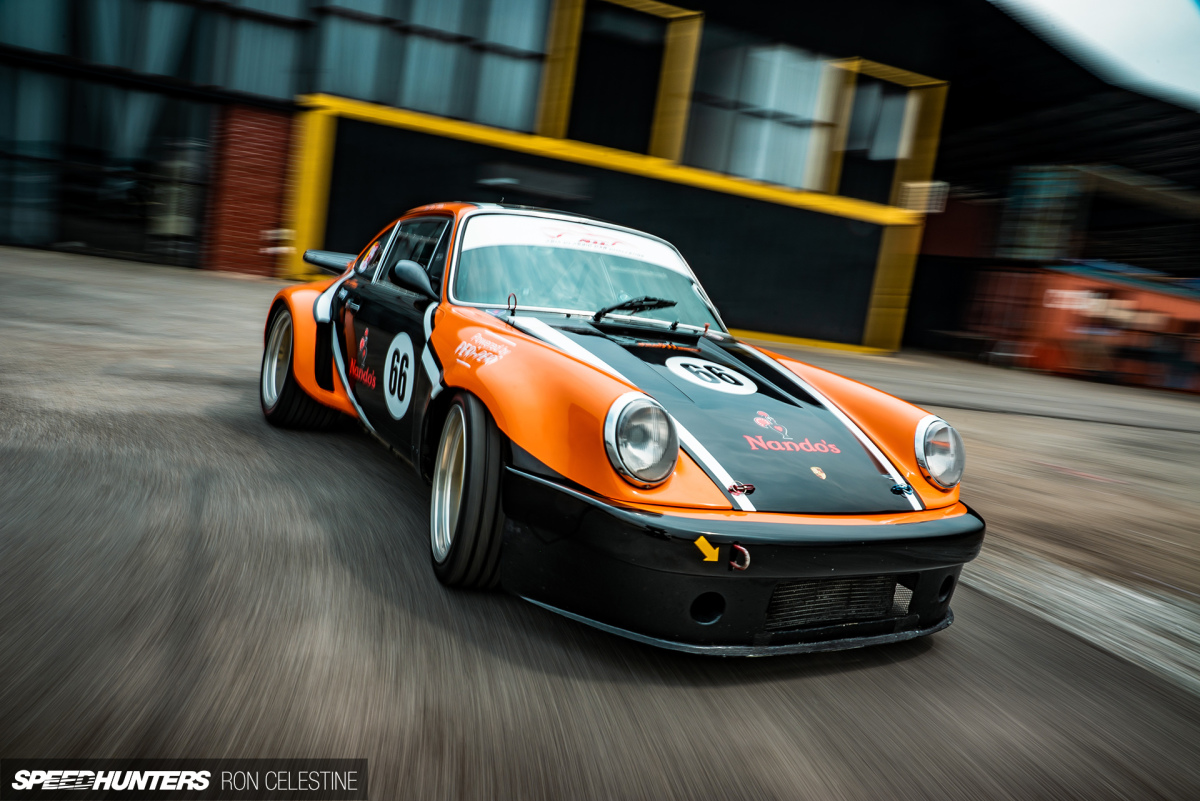 Finding Track Confidence In An Inspired Carrera RSR