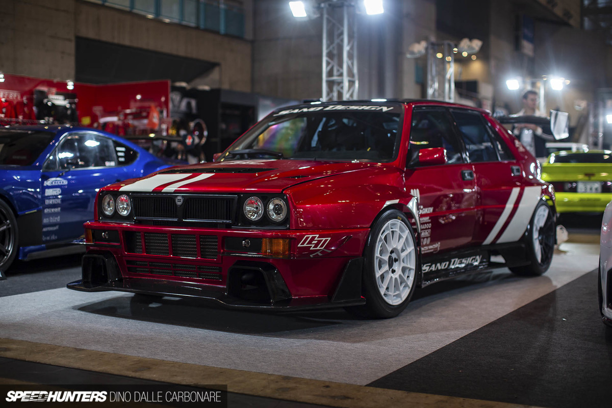 Japan's Ultimate Lancia Delta Integrale