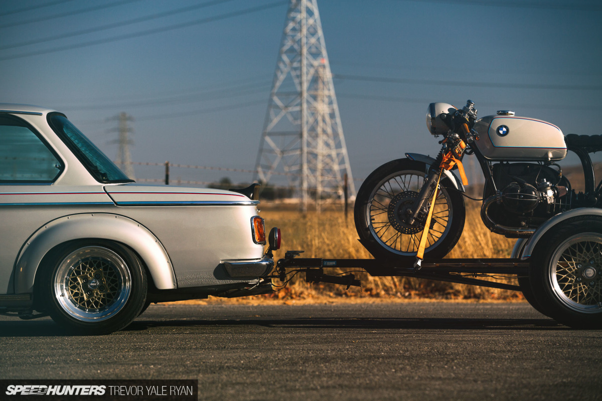 The Perfect Set From '75: A BMW 2002 & R75/6