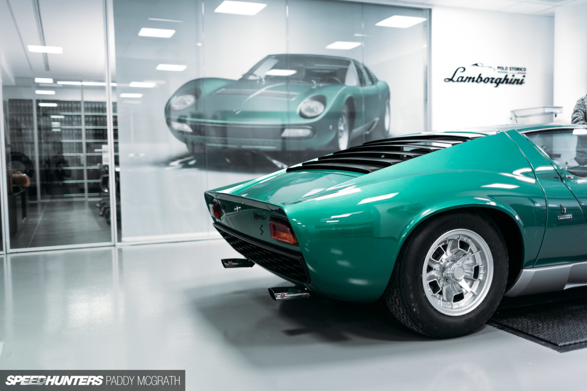 Preserving Truth: Lamborghini's Polo Storico