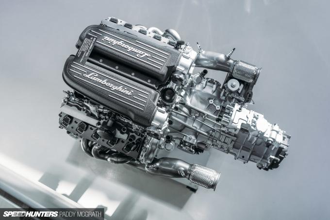 2018 Museo Lamborghini Engine-1