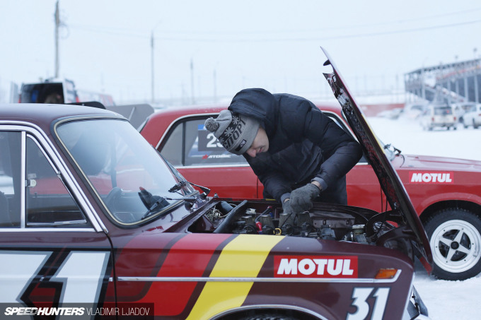 Winter Drift Battle in Krasnoyarsk, Siberia - pictures by Vladimir Ljadov for Speedhunters