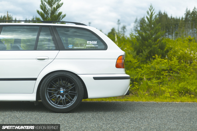 Tim's E39 M5 Wagon - Keiron Berndt - Speedhunters - Seattle-5379