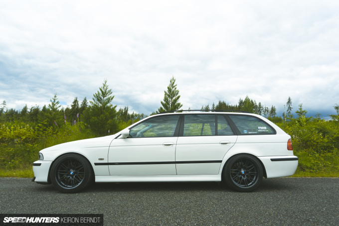 Tim's E39 M5 Wagon - Keiron Berndt - Speedhunters - Seattle-5391