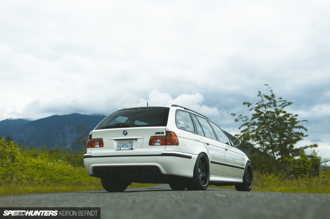 Tim's E39 M5 Wagon - Keiron Berndt - Speedhunters - Seattle-5397