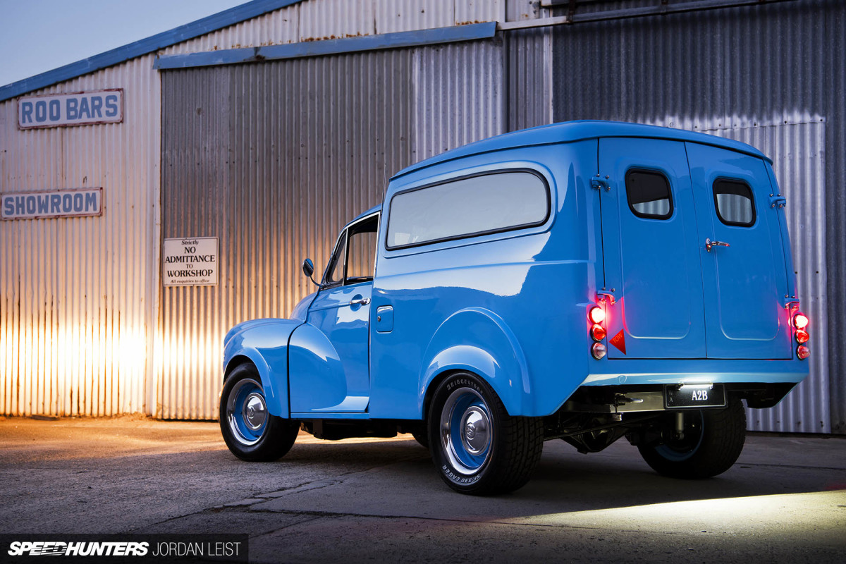 An Unexpected Twist: The Rotary '53 Morris Van