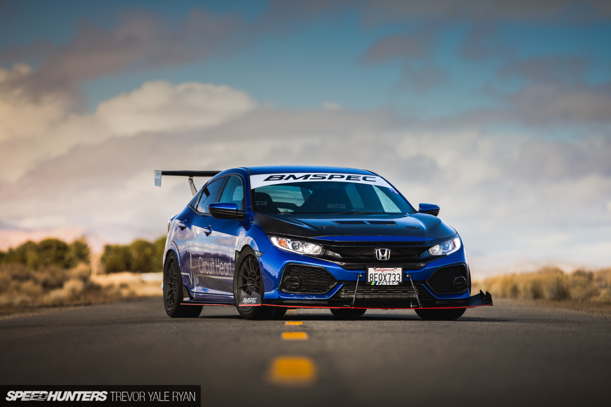 Street & Track: BMSPEC's 2018 Civic Hatchback
