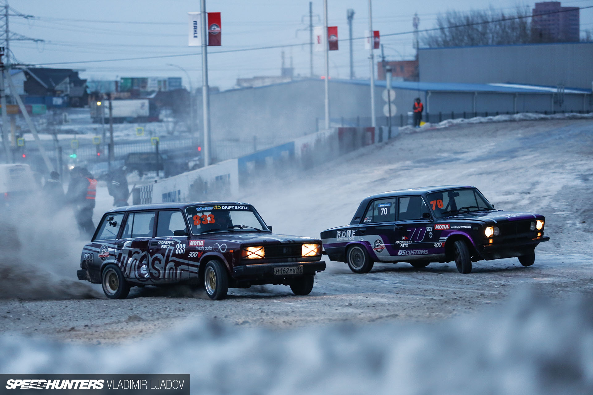 The Technicalities Of Winter Drift Ladas &Others