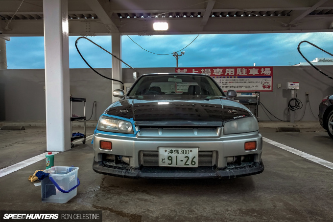 Speedhunters_Ron_Celestine_Nissan_Skyline_ER34_ProjectRough_Headlamp_1