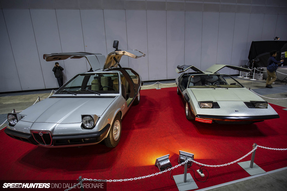 Two Michelotti Concept Cars In Japan