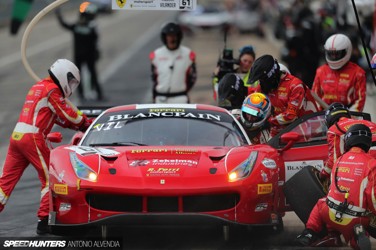 Blancpain GT World Challenge Debuts At COTA
