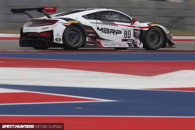 Blancpain GT Challenge COTA Acura NSX