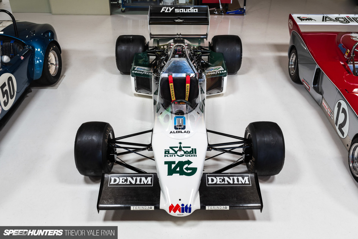 The Williams FW08C: A Champion's Car