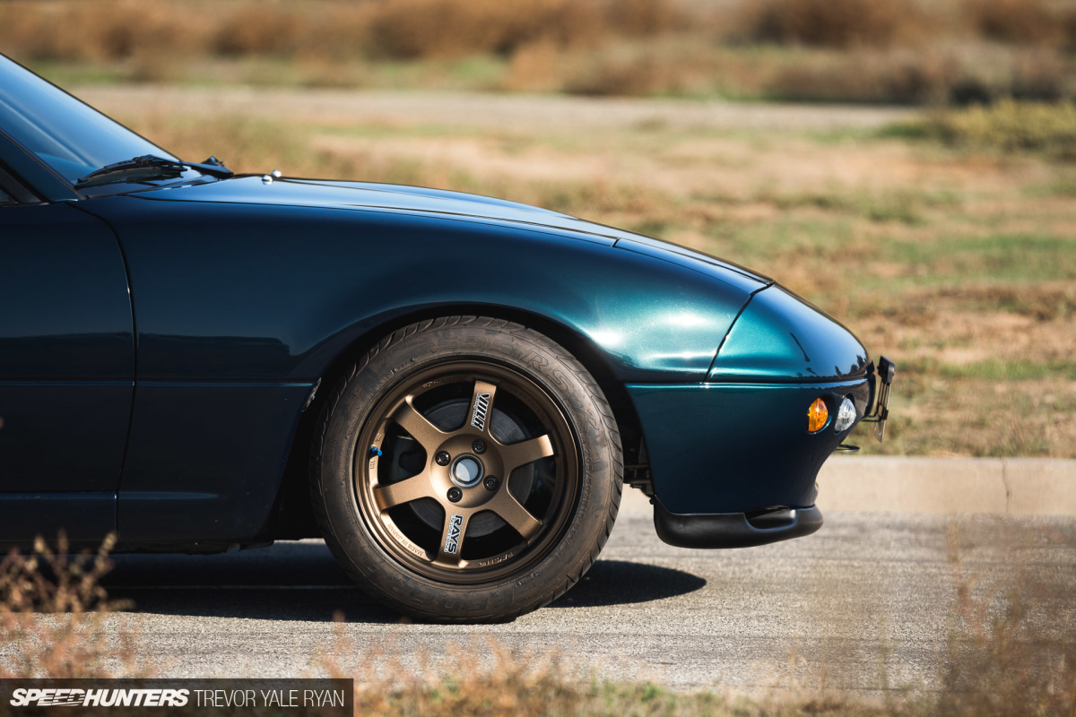 Spirit Road: The Minimalist Miata With All The Parts