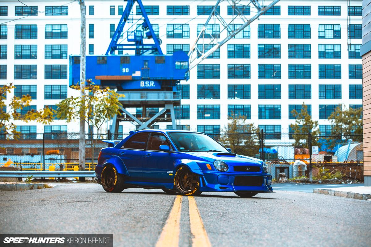 An Unabashed Street Car: Richi Bautista's SubaruWRX