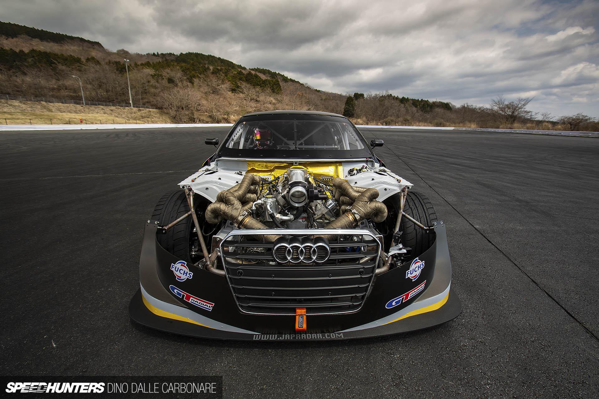 800hp In An Audi DriftCar