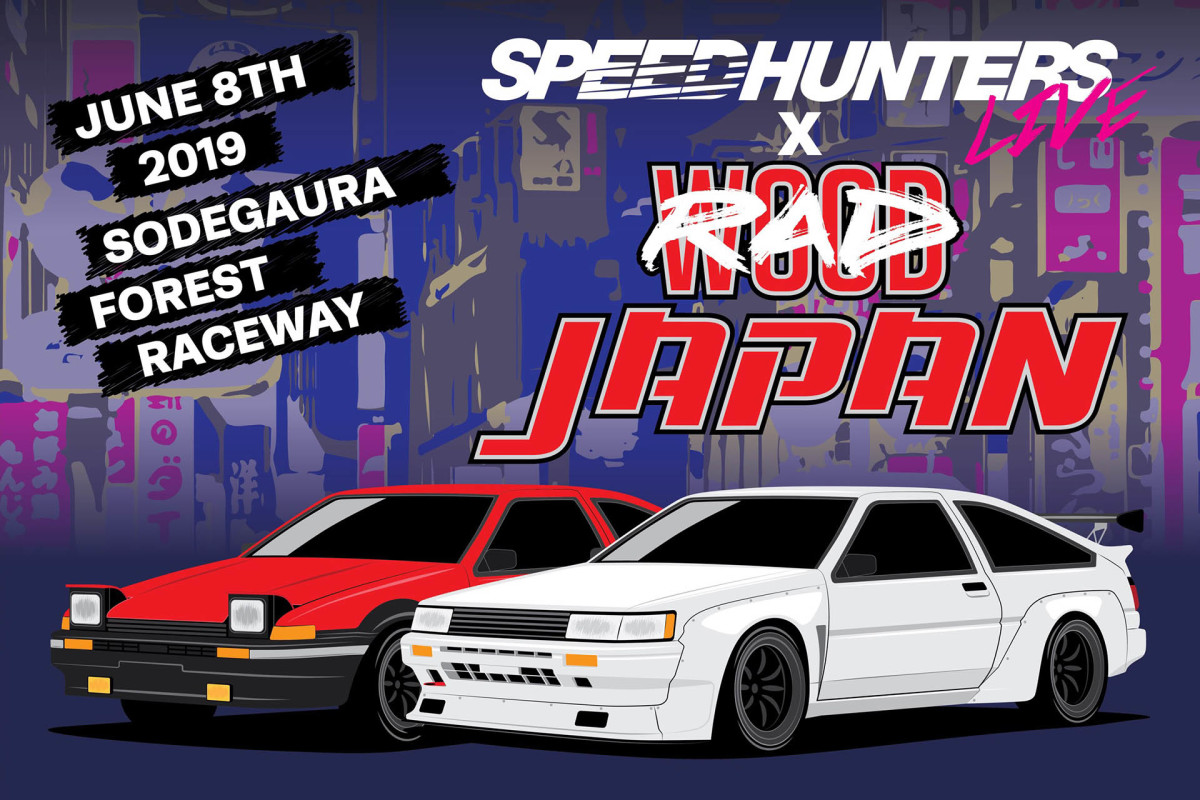 Speedhunters Live & RADWood Team Up For Japan