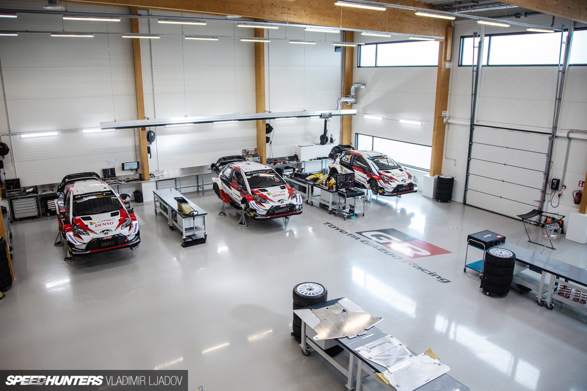 A Rare Look Inside The Toyota Gazoo Racing WRT Factory