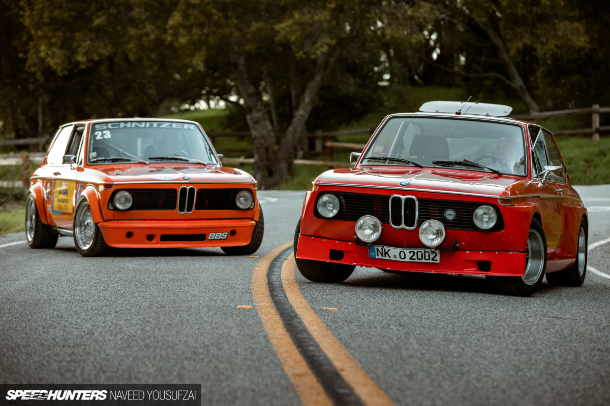 The BMW 2002 Touring Brothers