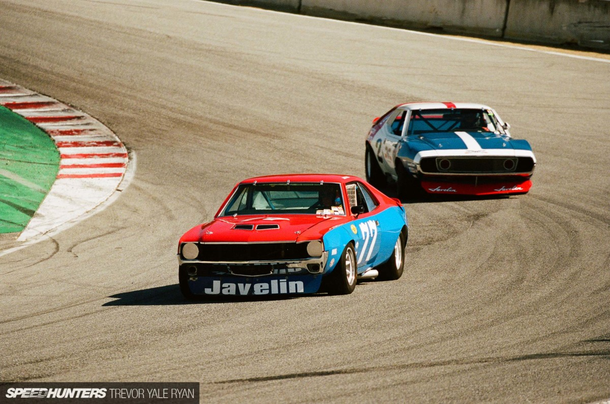 The Trans Am SpeedFest, Historic Racing & Portra400