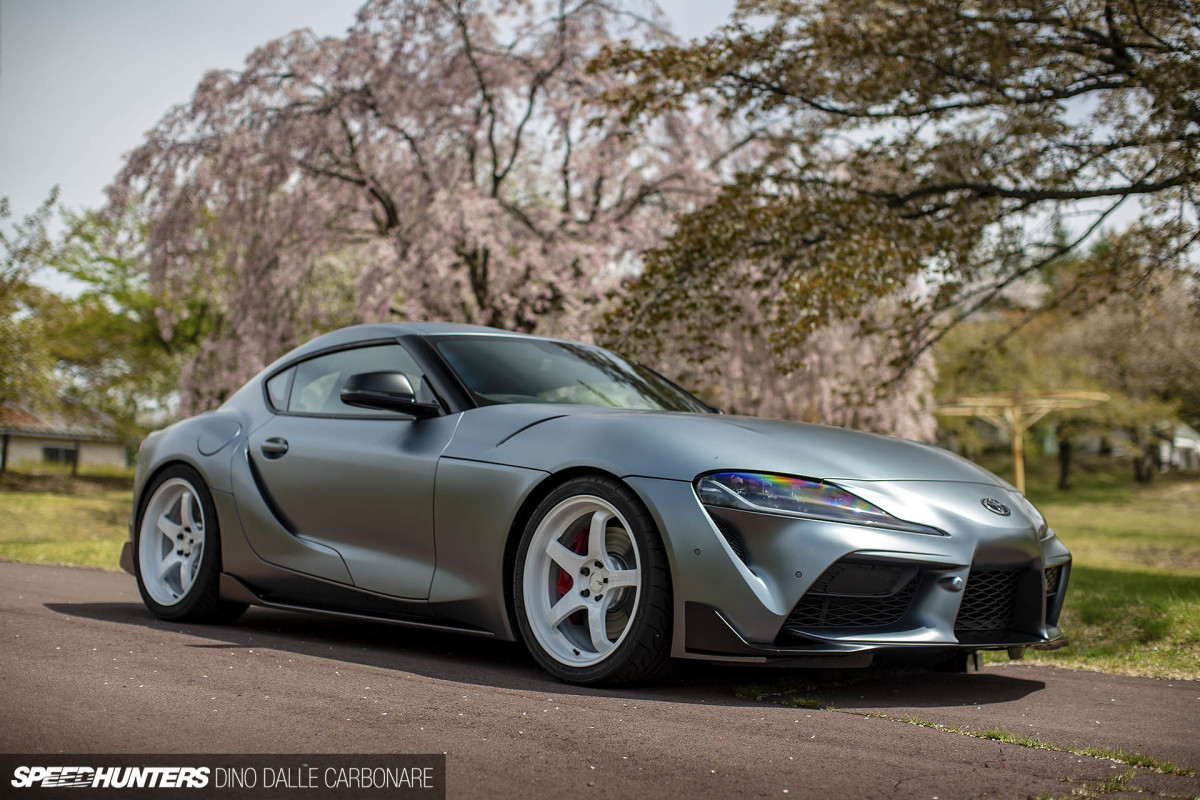 We Drive The World's First Modified A90Supra